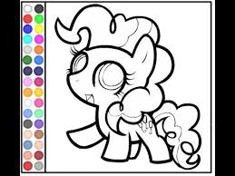 Small Picture My Little Pony Coloring Pages Online YouTube