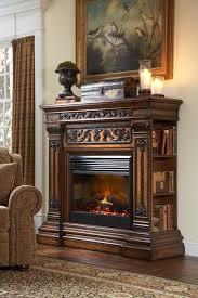 ambella webster electric fireplace mantel
