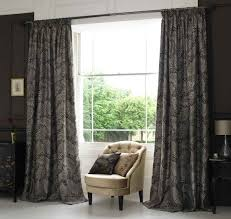 Purple Living Room Curtains Living Room Curtain Ideas For Bay Windows Modern Interior White