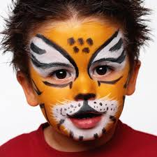 lion face makeup ideas face painting lion step by step drawing art collection