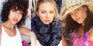 15 victoria s secret models wearing zero makeup