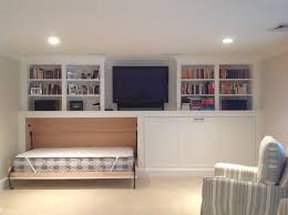twin murphy bed. Twin Murphy Bed Basement Transitional With Renovation Horizontal