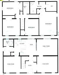 4 bedroom 2 story house plans small story house plans three home 2 modular floor 2 4 bedroom