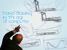 architectural hand drawings. Hand Drawing In The Age Of Computers Architectural Drawings