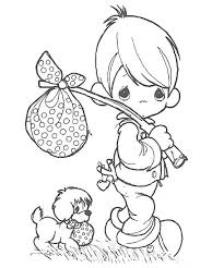 Precious Moments Christmas Coloring Pages 6 Haydanhthoigiannet