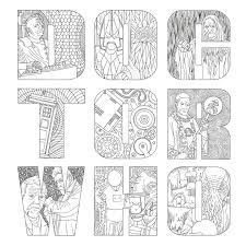 Small Picture Doctor Who Printable Coloring Pages Coloring Coloring Pages