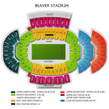 Psu Football Seating Chart Psu Football Tickets 2019 Penn State Nittany Lions Games