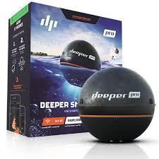 ≡ Беспроводной <b>эхолот Deeper Smart Sonar</b> PRO (wi-fi) – купить ...