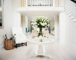 contemporary round foyer tables design ideas round foyer table with fl arrangements on lights dining room