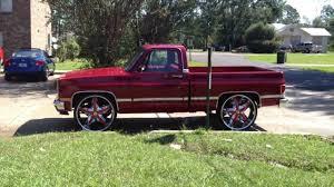89 Box Chevy Impala on 30s and 85 Silverado on 28s - YouTube