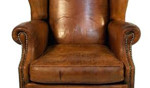winged leather armchair by chair for dining chairs uk