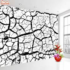 Black And White Mural Design Shinehome Large Modern Abstract 3d Black White Marble Brick Wallpaper Wall Murals Rolls Paper Wallpapers For 3 D Living Room
