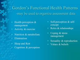 Functional Health Patterns Image Result For Gordons Functional Health Patterns Rn School