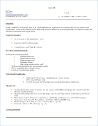 How To Make Resume For Mba Freshers Kantosanpo Com