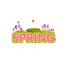 Another Word For Decorative Design Custom Spring In Word Vector Decorative Design Royalty Free Cliparts