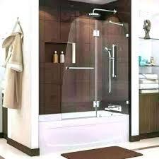 tub shower enclosures glass shower enclosures shower doors tub shower door aqua frosted glass shower