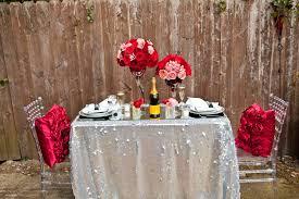 elegant romantic dinner table for two 1