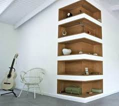 Built In Corner Wall Shelves Ideas