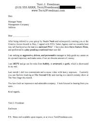 Actress Sample Resumes Gorgeous Actress Cover Letter Sample Professional Resume