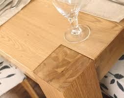 aston solid oak. aston oak dining table 4 seater solid