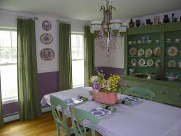Green And Purple Room Lime Green And Purple Dining Room House Design Ideas