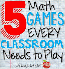 Classroom Games the Help Kids Learn the Math Facts ...