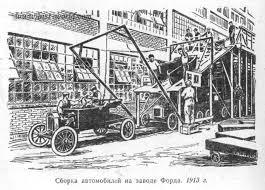 ЭКОНОМИЧЕСКОЕ РАЗВИТИЕ США В КОНЦЕ НАЧАЛЕ ВЕКА Форд Т стала первой моделью компании в производстве которой впервые был применен конвейер