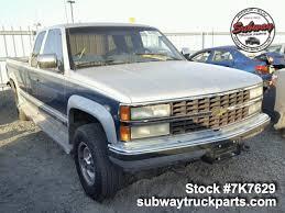 Used Parts 1991 Chevrolet Silverado 2500 5.7L 4x4 | Subway Truck ...