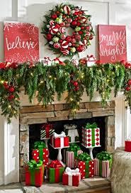 Deck the Halls Wreath. Christmas Mantel DecorDecorate ...