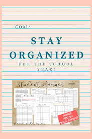 Academic Daily Planner Ultimate College Student Academic Daily Planner And Organization