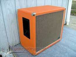speaker cabinets but is often times also found on lifier heads as well such as on marshall s the 4x10 cabinet shown here shows the white