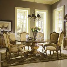 round 6 person dining table trends including love the benches mixed with chairs fun idea forround pictures