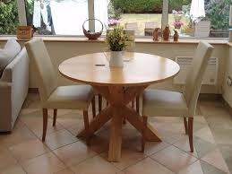 next hudson round dining table light oak superb condition in