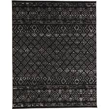 area rugs black pattern best of tribal essence black 9 ft 3 in x 12 ft