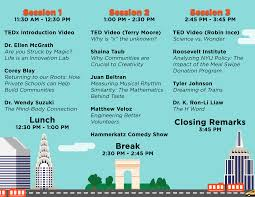 Tedxnyu 2013 May 4 Conference Program Abhinay Ashutosh Abhinay