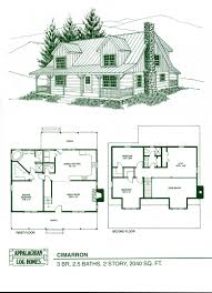log house plans images on of small post