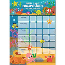 Sealife Friends Sticker Reward Chart Ocado
