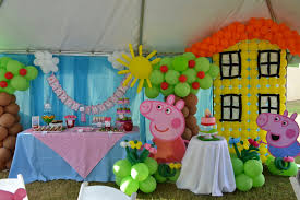 Peppa Pig Bedroom Decor Ideas Birthday Party Of Peppa Pig Archives How To Organize