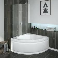 corner bathtub shower doors bath with screen panel in home out bathroom panels ideas showers