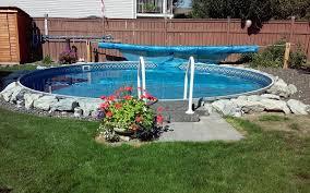 eternity 24 ft round semi inground pool complete supplies canada semi inground swimming pools r65