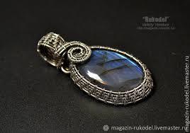 pendants handmade livemaster handmade the pendant is made of 925 sterling silver