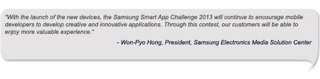 Samsung Quote Amazing Samsung Launches 'Samsung Smart App Challenge 48' Samsung Global