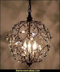 sphere chandelier teapot table lamp