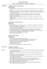 Mechanical Engineering Design Technologist Jobs Design Technologist Resume Samples Velvet Jobs