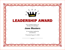 Elegant Award Certificate Template Word Best Sample Excellent