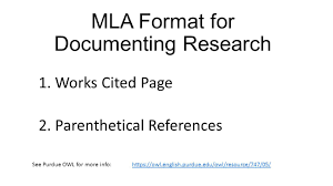 Mla Formayt Mla Format For Documenting Research Ppt Video Online Download