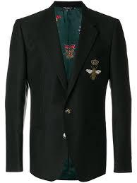 gucci jacket mens. embroidered monaco jacket gucci mens