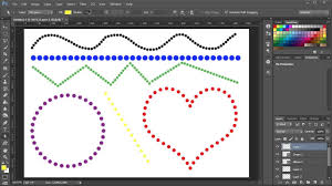 Hi, i'm pretty new in processing. How To Make Dotted Lines In Adobe Photoshop Youtube