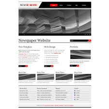 Newspaper Website Template Free Download Free Template 344 Newspaper