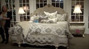 michael amini bedroom. Lavelle Blanc Wing Mansion Bedroom Set By Michael Amini / AICO | Home Gallery Stores